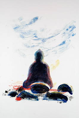 Buddha Fifty-one Art Print by Valerie Lynch