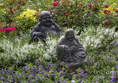 Buddha Garden Art Print