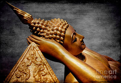 Buddhist Photograph - Buddha Golden by Adrian Evans