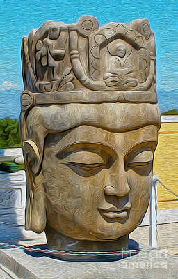 Painting - Buddha by Gregory Dyer