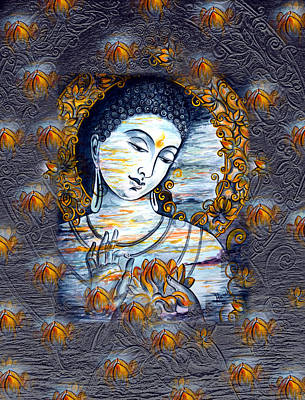 Buddha Print by Harsh Malik