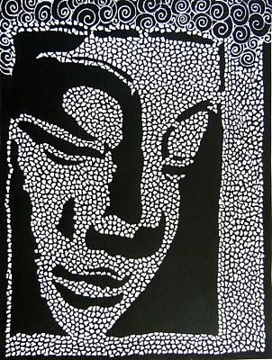 Painting - Buddha I by Kruti Shah