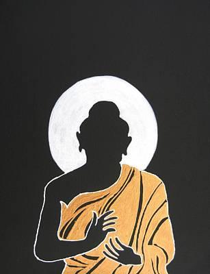 Thai Mixed Media - Buddha II by Kruti Shah