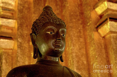 Photograph - Buddha In Black by Bob Christopher