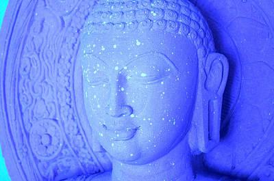 Vincent Van Gogh - Buddha in Blue by Sally Rockefeller