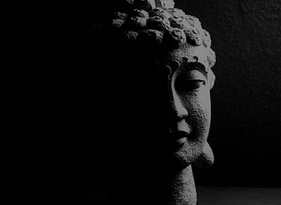 Art Print featuring the photograph Buddha  by Jessica Shelton