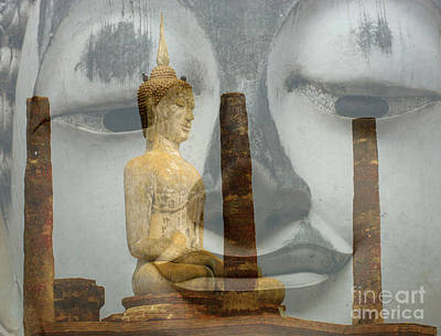 Photograph - Buddha Looks On by Bob Christopher
