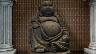Digital Art - Buddha by Louis Ferreira