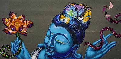 Buddha Photograph - Buddha  by Nelson Rodrigues da Costa