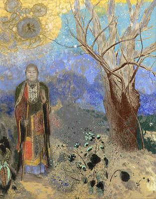 Buddha Art Print by Odilon Redon
