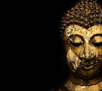 Buddha Portrait  Original by Thanes Wattanasopa