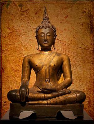 Concentration Digital Art - Buddha by Ram Vasudev