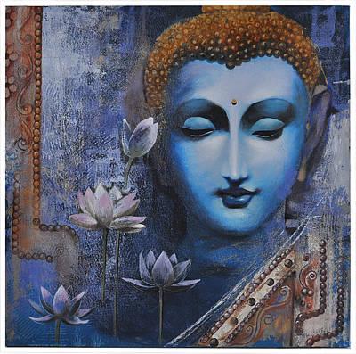 Painting - Buddha by Santanu Maity