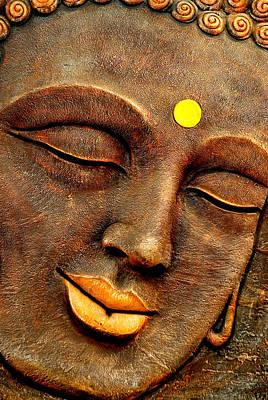 Sleeping Buddha Photograph - Buddha by Saurav Chakraborty