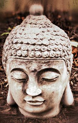 Photograph - Buddha - Serenity  by Patricia Januszkiewicz