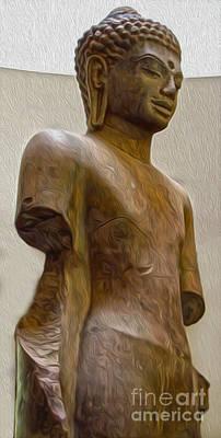 Painting - Buddha Shakyamuni by Gregory Dyer