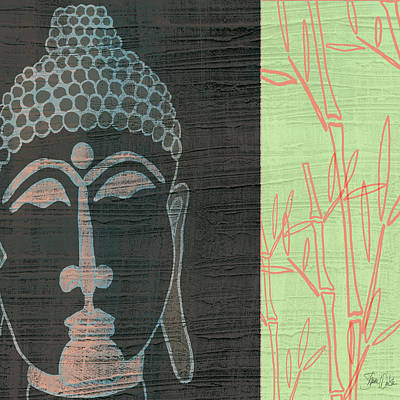 Lime Painting - Buddha by Shanni Welsh