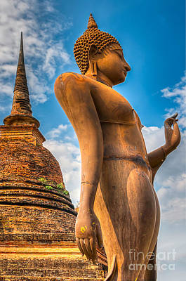 Religious Statue Photograph - Buddha Statue by Adrian Evans