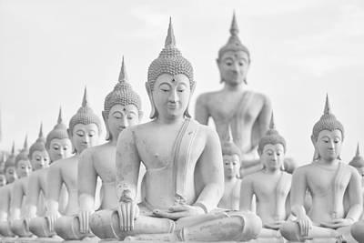 Asian Landscape Photograph - Buddha Statue  by Anek Suwannaphoom