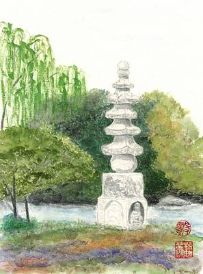 Painting - Buddha Monument by Terri Harris
