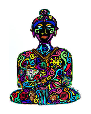 Painting - Buddha by Tracey Rogers