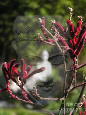 Yogananda Digital Art - Buddha Transition by Valerie Freeman