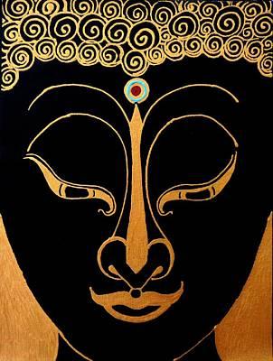 Painting - Buddha Vi by Kruti Shah
