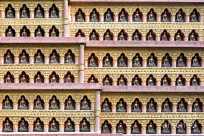 Photograph - Buddha Wall by Tim Gainey