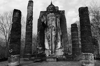 Photograph - Buddha Wat Sri Chum Thailand 2 by Bob Christopher