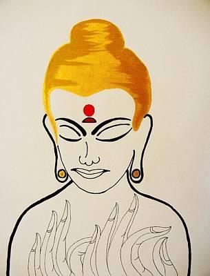 Buddha Xii Original by Kruti Shah