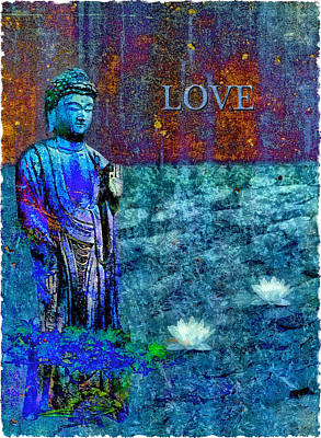 Photograph - Buddha's Love by Kim Swanson
