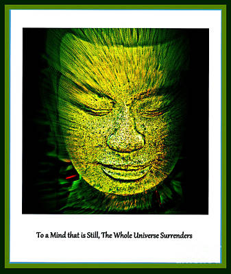 Buddhas Mind II Art Print