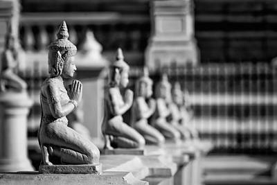Photograph - Buddhas by Stefan Nielsen