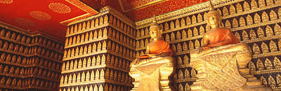 Meaningful Art Photograph - Buddhas Wat Xien Thong Luang Prabang by Panoramic Images