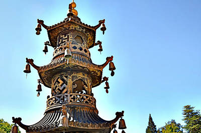 Buddhist Bells Art Print