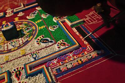 Buddhist Monastery, Painting Art Print