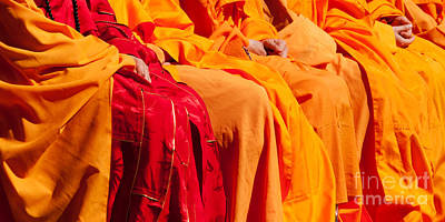 Photograph - Buddhist Monks 04 by Rick Piper Photography
