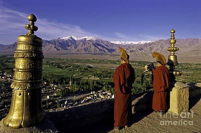 Buddhist Monks Art Print