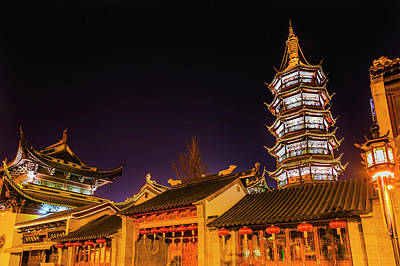 Buddhist Nanchang Nanchang Temple Art Print