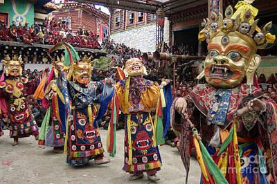 Photograph - Buddhist Opera - Kham Tibet by Craig Lovell