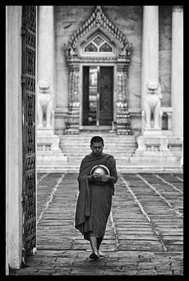 Buddhist Prayers 4 Art Print by David Longstreath