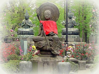 Photograph - Buddhist Shrine by John Potts