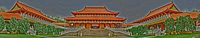 Photograph - Buddhist Temple by Richard J Cassato