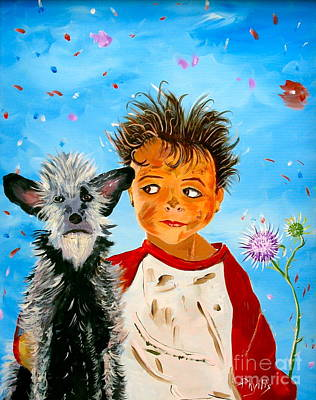 Painting - Buddies by Phyllis Kaltenbach