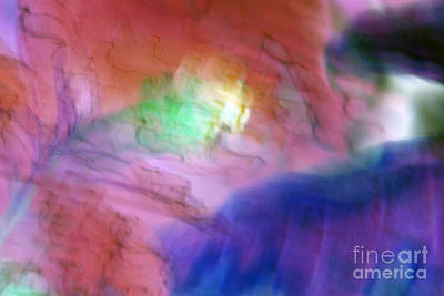 Photograph - Budding Abstract Red Pink And Purple by Heather Kirk
