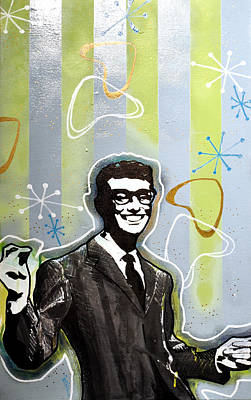 Buddy Holly Art Print by Erica Falke