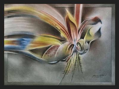 Pastel - Budscape1 '09   by Glenn Bautista