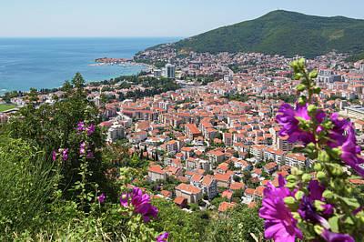 Budva, Montenegro. Overall View Art Print