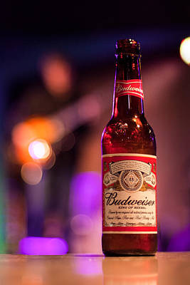 Photograph - Budweiser Blues by Semmick Photo