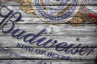 Hop Photograph - Budweiser by Joe Hamilton